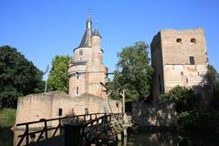 El castillo histórico Duurstede, los Países Bajos Fotos de archivo libres de regalías