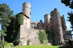 El castillo histórico Hanstein, Alemania Fotos de archivo
