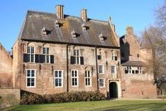 El castillo histórico Hernen, los Países Bajos Fotos de archivo libres de regalías