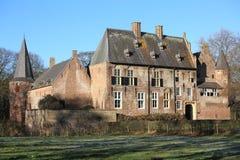 El castillo histórico Hernen, los Países Bajos Foto de archivo