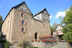 El castillo histórico Hessenstein, Alemania Imágenes de archivo libres de regalías