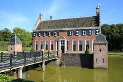 El castillo histórico Menkemaborg, los Países Bajos Fotos de archivo
