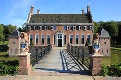 El castillo histórico Menkemaborg, los Países Bajos Fotografía de archivo libre de regalías