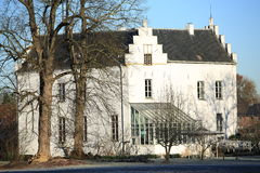 El castillo histórico Nieuwenbroeck, los Países Bajos Imagenes de archivo