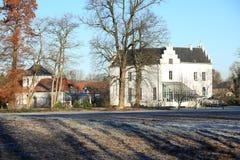 El castillo histórico Nieuwenbroeck, los Países Bajos Fotos de archivo
