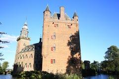 El castillo histórico Nijenrode, los Países Bajos Fotografía de archivo libre de regalías