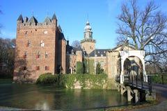 El castillo histórico Nijenrode, los Países Bajos Fotos de archivo