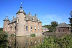 El castillo histórico Slangenburg, los Países Bajos Fotos de archivo