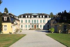 El castillo histórico Wilhelmsthal en Hesse, Alemania Fotografía de archivo