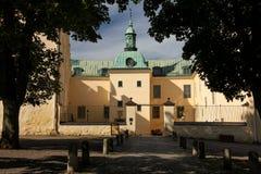El castillo. Linkoping. Suecia imagen de archivo