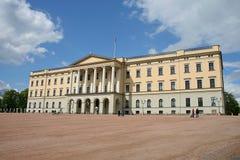 El castillo noruego real foto de archivo libre de regalías