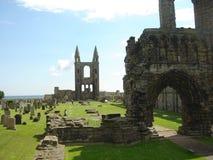 El castillo permanece Imagen de archivo libre de regalías