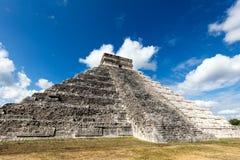 El Castillo pyramid in Chichen Itza Stock Photography