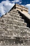 El Castillo Pyramid at Chichen Itza Royalty Free Stock Photography