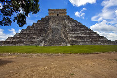 el castillo quetzalcoatl Stock Photography