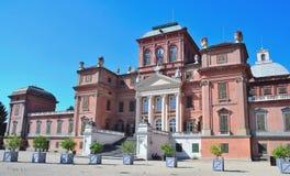 El castillo real de Racconigi, Imagen de archivo libre de regalías