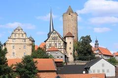 El castillo Schlitz en Hesse, Alemania Foto de archivo libre de regalías