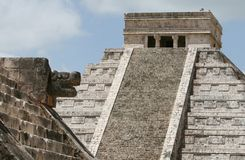 El Castillo Temple Royalty Free Stock Photo
