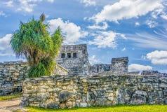 El Castillo Tulum stock photos
