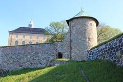 El castillo viejo de la ciudad Fotografía de archivo