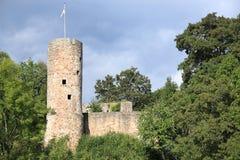 El castillo Wallenstein en Hesse, Alemania Fotos de archivo libres de regalías