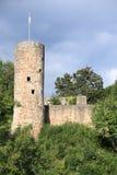 El castillo Wallenstein en Hesse, Alemania Fotografía de archivo libre de regalías