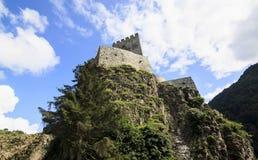 El castillo Zilkale en las montañas de Kackar en Turquía Imágenes de archivo libres de regalías