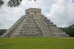 El Castilo Temple in Chichen Itza, Mexico Stock Photos