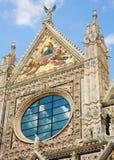 El Catherdral en Siena, Italia Imagen de archivo