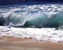 El causar un crash de las ondas Foto de archivo libre de regalías