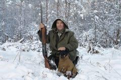 El cazador Imagenes de archivo