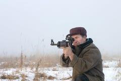 El cazador fotos de archivo