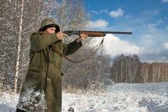 El cazador Fotografía de archivo