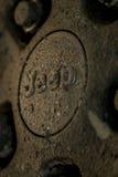 El ceenter del anillo capsula el jeep Wrangler Fotografía de archivo libre de regalías