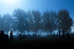 El cementerio Imágenes de archivo libres de regalías