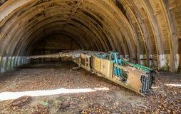 El cementerio de combatientes Foto de archivo libre de regalías