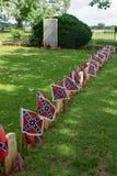 El cementerio del confederado de Appomattox Fotos de archivo