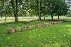 El cementerio del confederado de Appomattox - 2 foto de archivo libre de regalías
