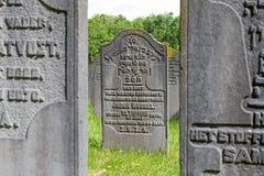 El cementerio judío Diemen Fotografía de archivo libre de regalías