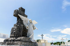 El cementerio más viejo de America Central - Granada, Nicaragua Imagen de archivo