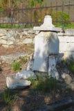 El cementerio viejo Parte histórica de Pyatigorsk Imagen de archivo libre de regalías