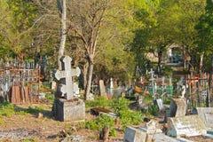 El cementerio viejo Parte histórica de Pyatigorsk Fotografía de archivo libre de regalías