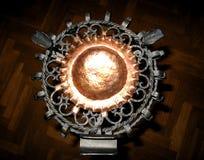 El cenicero más elaborado de la industria siderúrgica imagenes de archivo