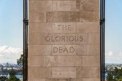El cenotafio Imagen de archivo libre de regalías