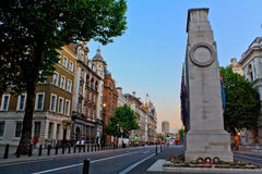El cenotafio, Whitehall Foto de archivo libre de regalías