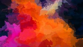 El centelleo animado manchó el vídeo inconsútil del lazo del fondo - efecto de la mancha de la acuarela - color negro púrpura del libre illustration