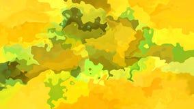 El centelleo animado manchó el vídeo inconsútil del lazo del fondo - efecto de la mancha de la acuarela - color verde de color ca