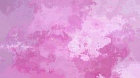 El centelleo animado manchó el vídeo inconsútil del lazo del fondo - efecto de la mancha de la acuarela - color violeta púrpura r stock de ilustración