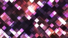 El centelleo de la difusión ajustó los diamantes 05 almacen de video