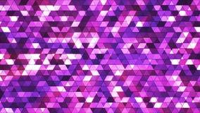 El centelleo de la difusión ajustó los triángulos de alta tecnología 02 stock de ilustración